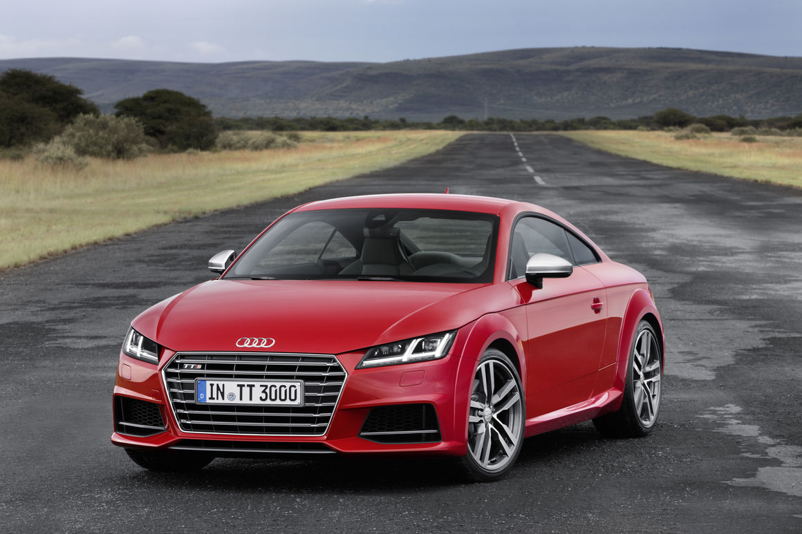 Audi TTS Coupé | Audi MediaCenter