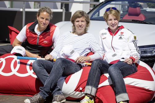Heidi Zacher, Natascha Keller, Britta Oppelt