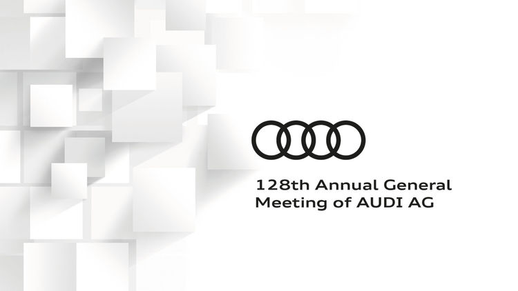 128th Annual General Meeting of AUDI AG