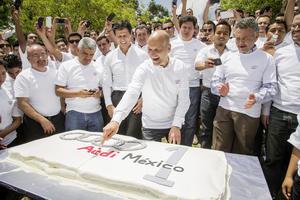 Ein Jahr Audi México: Glänzende Bilanz