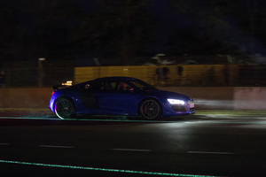 Premiere of the Audi R8 LMX in Le Mans 2014