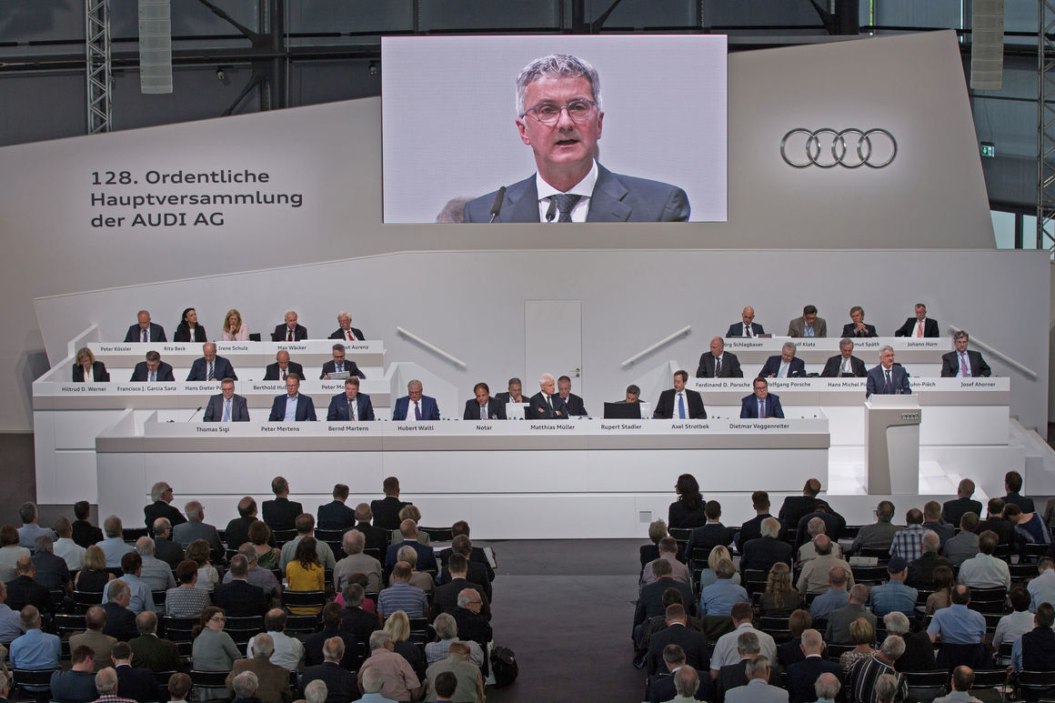 128th Annual General Meeting of AUDI AG in Ingolstadt