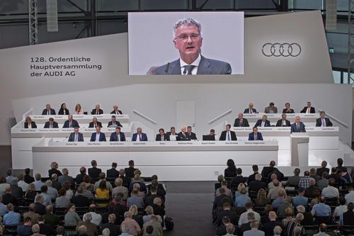 128. Ordentliche Hauptversammlung der AUDI AG in Ingolstadt