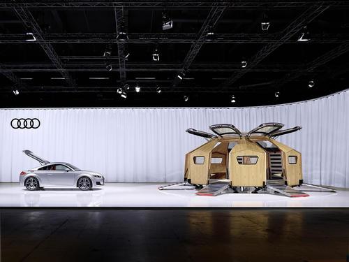 "Audi auf der Design Miami/Basel 2014: Konstantin Grcic entwirft ""TT Pavilion"""