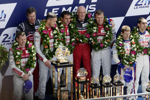 Triumph at Le Mans: Audi defeats Porsche and Toyota