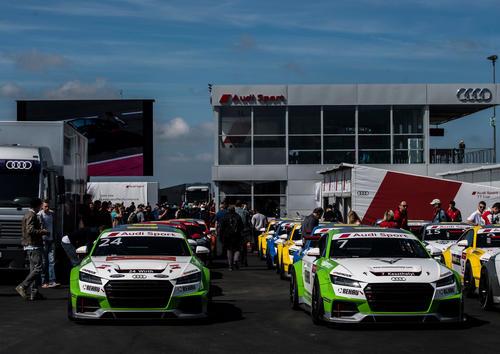 Audi Sport TT Cup 2017 Nürburgring