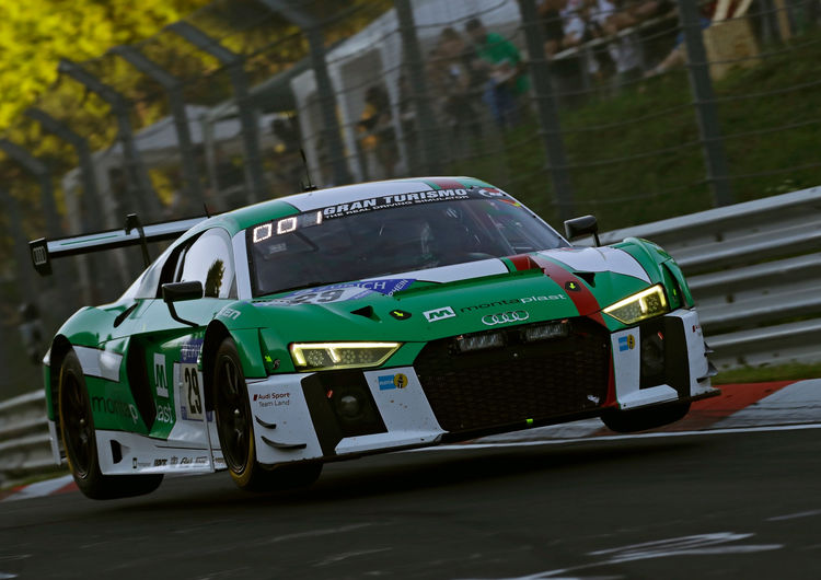 audi r8 lms second on the grid at the nürburgring | audi mediacenter
