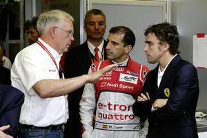 Viel Prominenz bei Audi in Le Mans