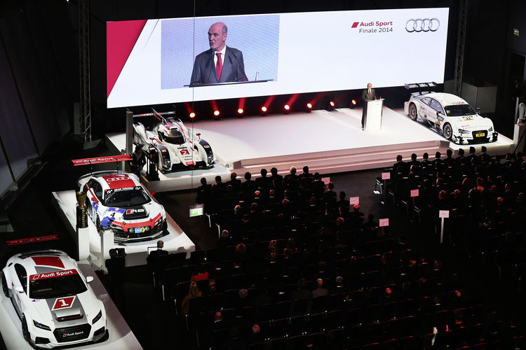 Audi: Growth also in motorsport