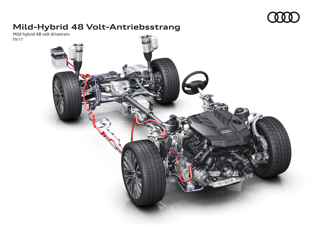 Looking ahead to the new Audi A8: More voltage for enhanced efficiency |  Audi MediaCenter