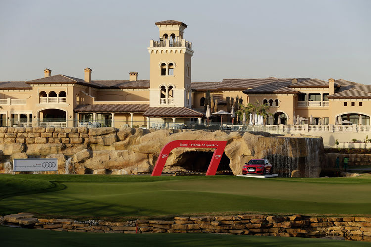 Jumeirah Golf Estates Earth Course in Duba