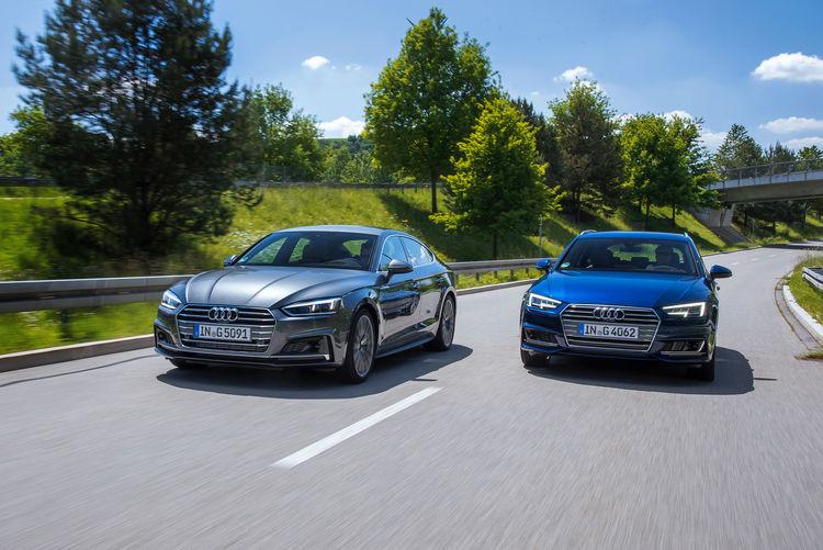 Audi A5 Sportback g-tron und Audi A4 Avant g-tron