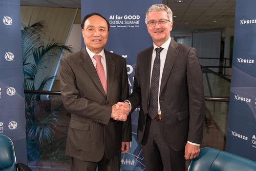 """beyond initiative at the """"AI for Good Global Summit""""on June 7, 2017 in Geneva:"""