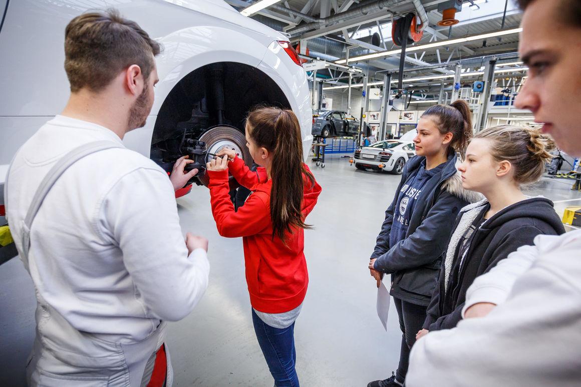 Audi Berufsinformationstage Neckarsulm