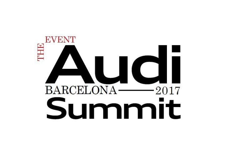 """Audi Summit"""" in Barcelona in July: brand exhibition of the Four Rings"""