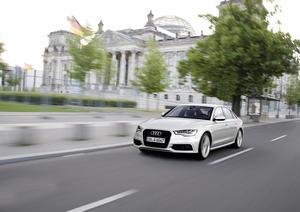 Deutscher Bundestag fährt effiziente  Audi ultra-Modelle