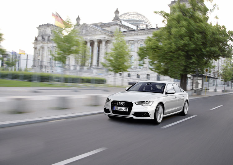 German Federal Parliament to drive efficient Audi ultra models