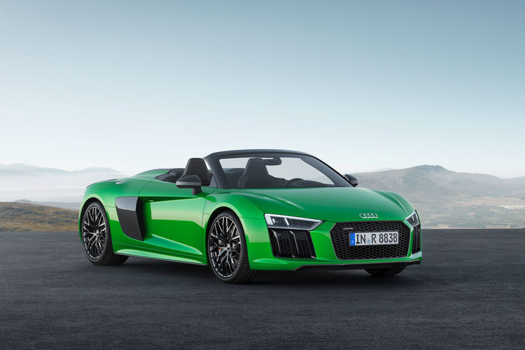 New Level Of Freedom The Audi R8 Spyder V10 Plus Audi Mediacenter
