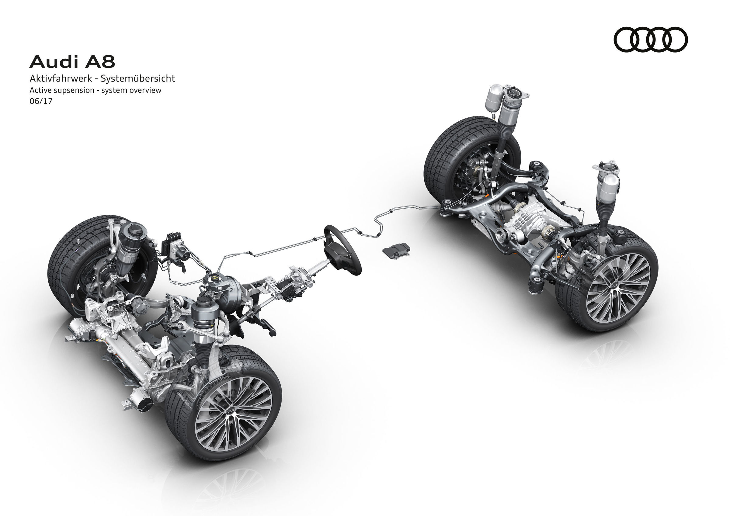 Looking Ahead To The New Audi A8 Fully Active Suspension Offers Engine Fuel Diagram
