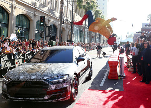 Audi at the world premiere of 'Spider-Man: Homecoming'