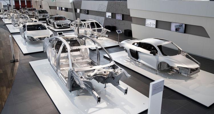 Body Structure – Die Geschichte der Audi Space Frame Bauweise