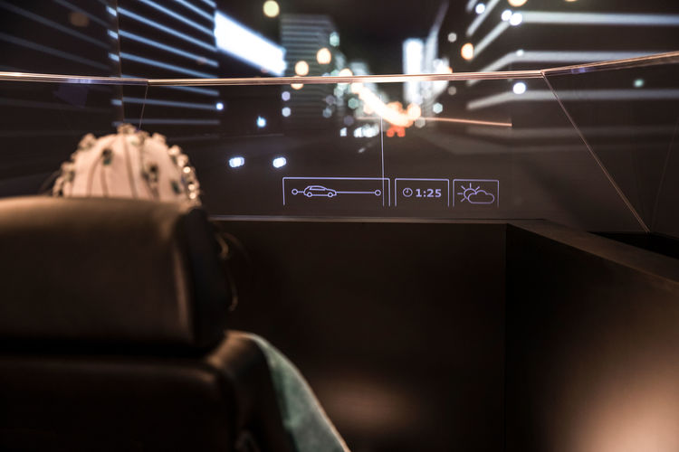 """""""25th Hour"""" project: Audi is researching the use of time in the robot car"""