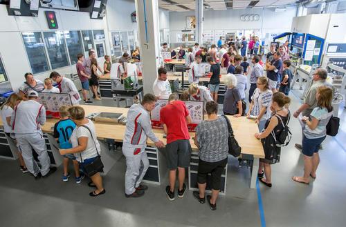 Tag der offenen Tür im Audi Bildungszentrum