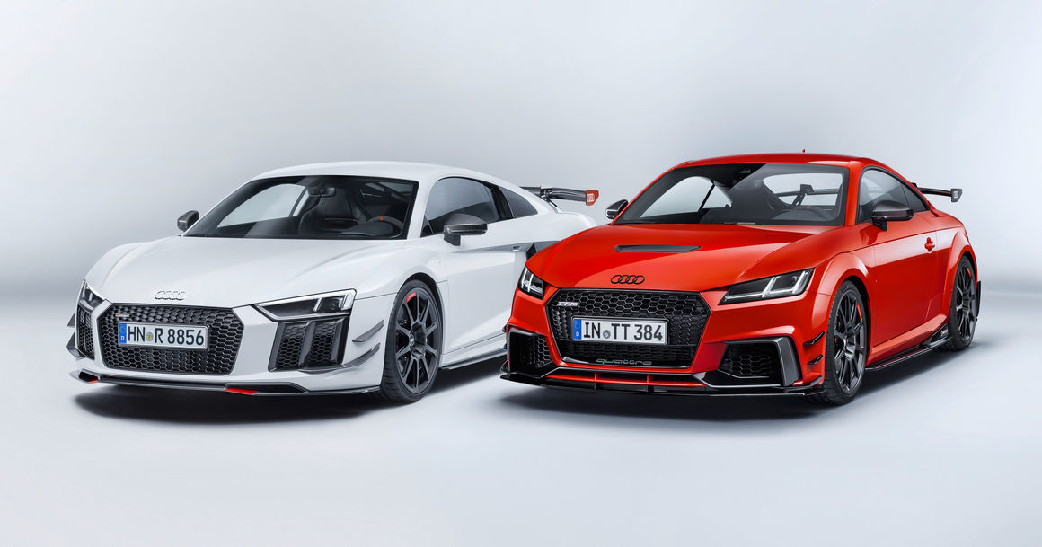 The Audi Sport Performance Parts  New dynamics for Audi R8 and
