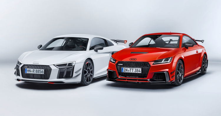 The Audi Sport Performance Parts New Dynamics For Audi R And Audi - Audi car parts