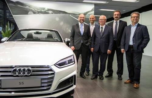 Martin Schulz bei Audi in Ingolstadt