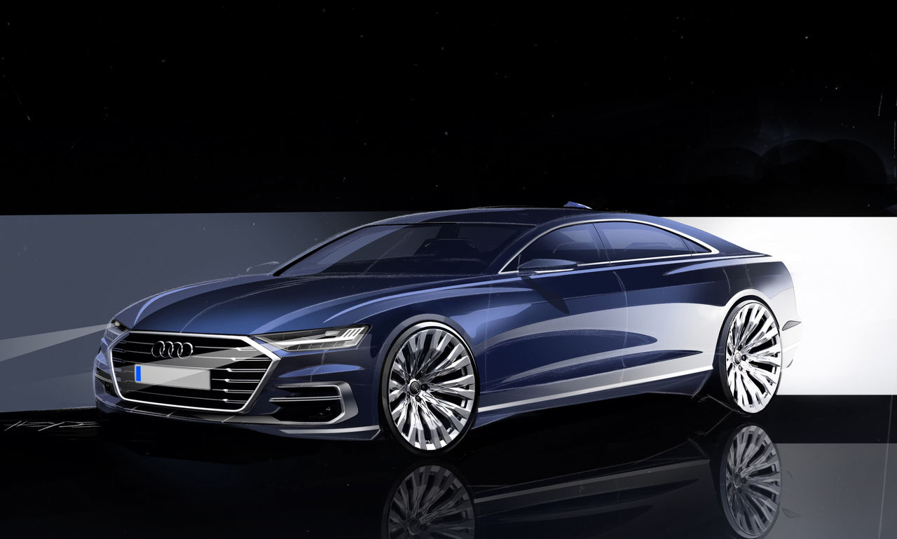 Audi audi a8 : The new Audi A8: the future of the luxury class | Audi MediaCenter