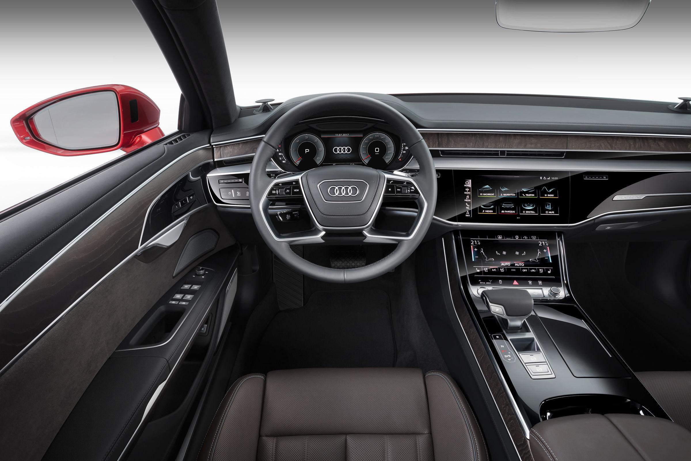 Audi A8 Interior >> Interior Audi Mediacenter