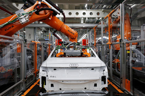 Audi A8: Production at Audi Neckarsulm