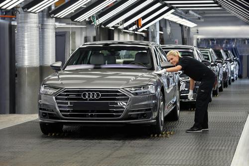 Audi A8: Produktion am Standort Neckarsulm