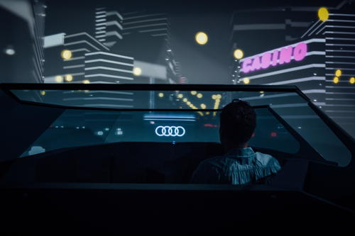 """25th Hour"" project: Audi is researching the use of time in the robot car"