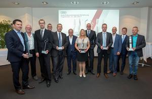 Sicherheit am Arbeitsplatz: Audi verleiht Präventionspreis