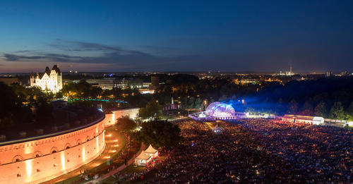 Classic Open Air of the 2017 Audi Summer Concerts at the Ingolstadt Klenzepark.