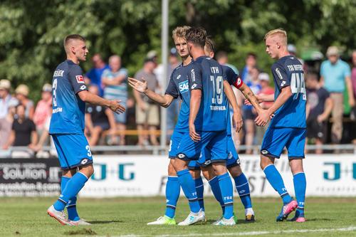 Top-Fußball mit Audi: Marke bringt TSG 1899 Hoffenheim nach Bad Friedrichshall