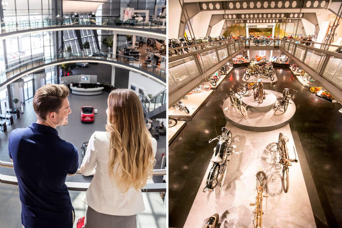 Vom Fahrrad zum Automobil: neue Erlebnisführung bei Audi in Neckarsulm