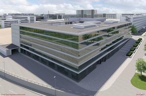 Neues Audi Design Center am Standort Ingolstadt in der Technischen Entwicklung (TE) im Nordgelände des Werkes