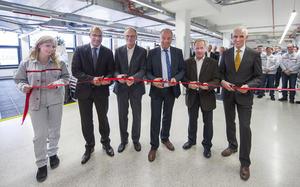 Lernstationszentrum Karosseriebau eingeweiht