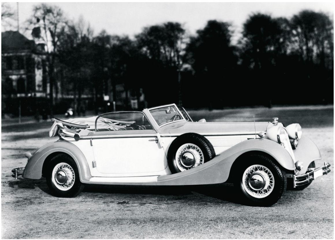 Horch Typ 853 A, 1939, 5 l, 8 Zylinder (Reihe), 120 PS