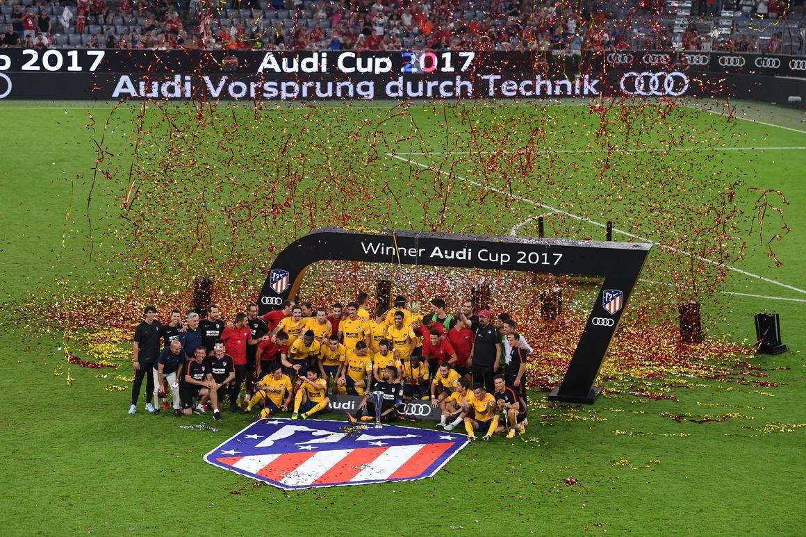 Atlético de Madrid wins Audi Cup 2017