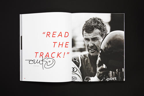 Red Dot Awards für Brand Book von Audi Sport