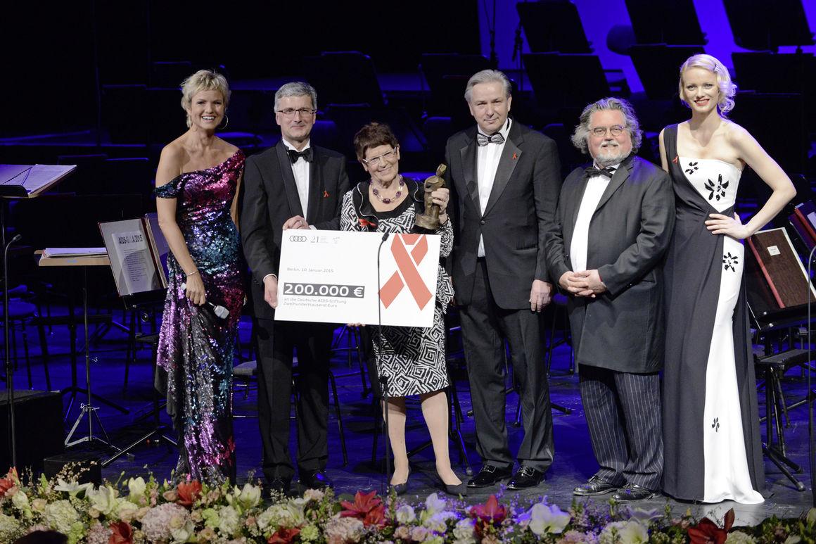Deutsche AIDS-Stiftung: Audi zum zweiten Mal Hauptsponsor der Festlichen Operngala
