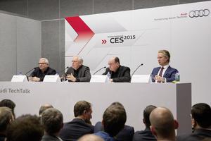 Audi Tech Talk, CES 2015