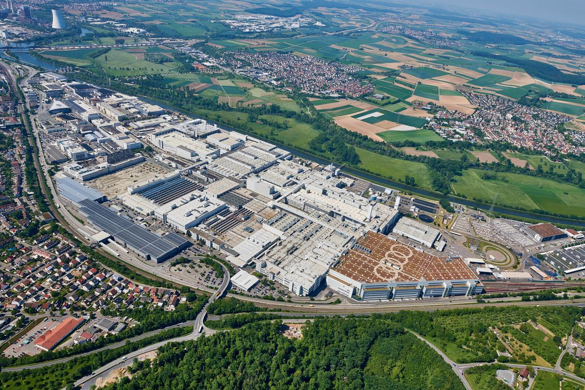 Audi site Neckarsulm