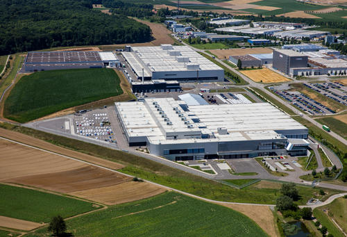Logistics Center at Audi Böllinger Höfe