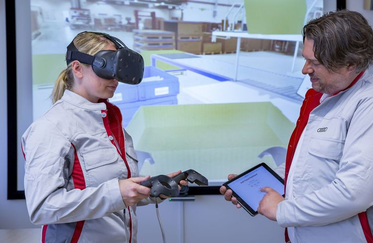 Audi uses virtual reality to train Logistics employees