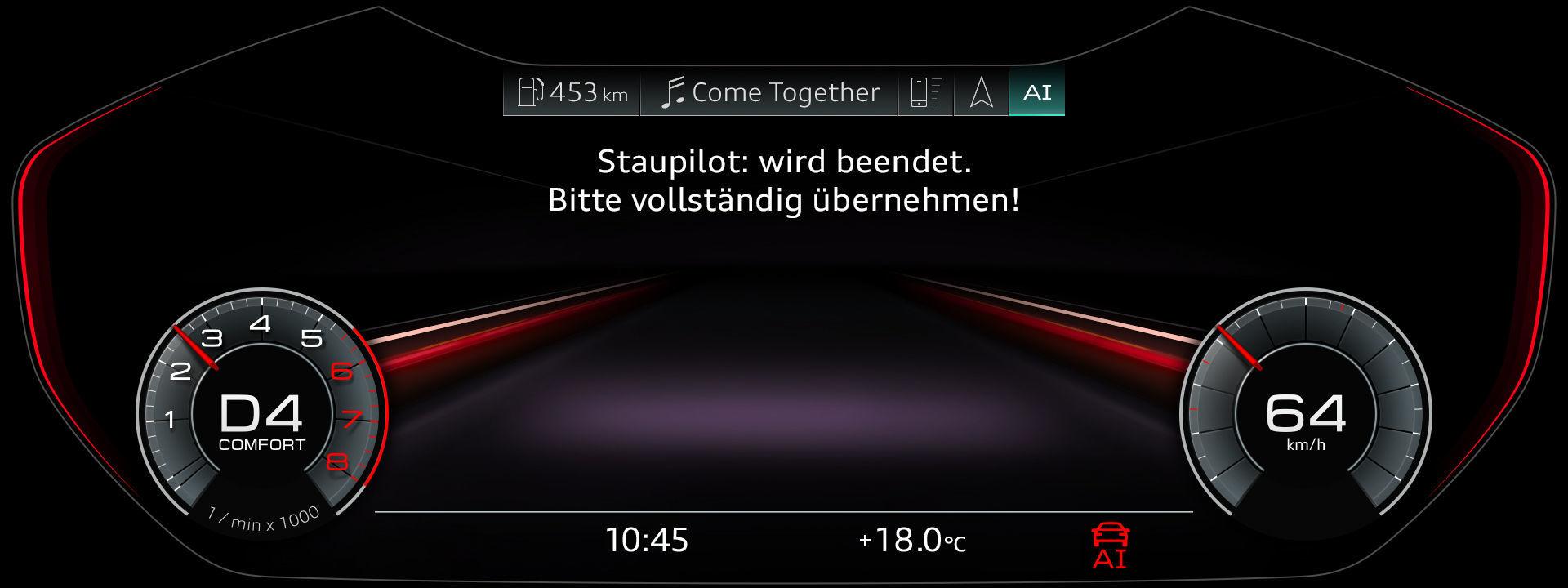 Der Staupilot im neuen Audi A8
